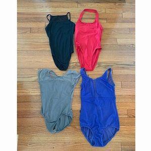 4 Dance Leotard Bundle-All size Women's XS